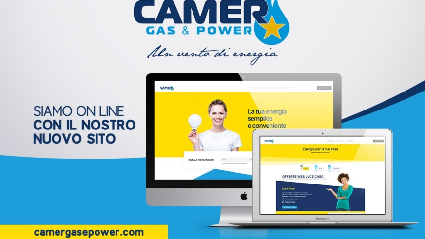 Camer gas & power nuovo sito