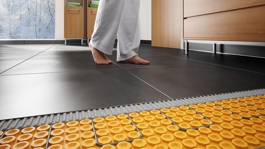 riscaldamento a pavimento risparmio energetico